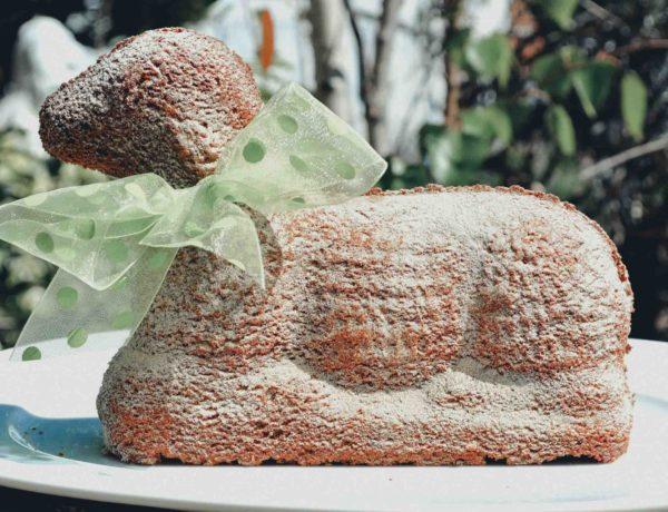 Rezept für ein veganes Osterlämmchen mit Haselnüssen