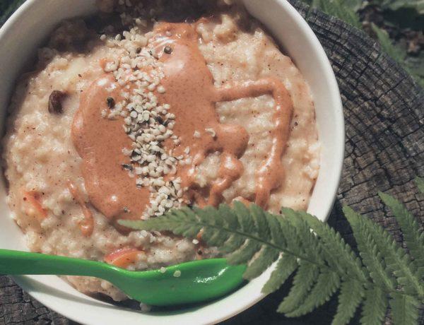 Porridge Grundrezept Beitragsbild
