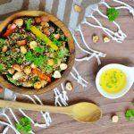 Quinoa Salat mit Gemüse