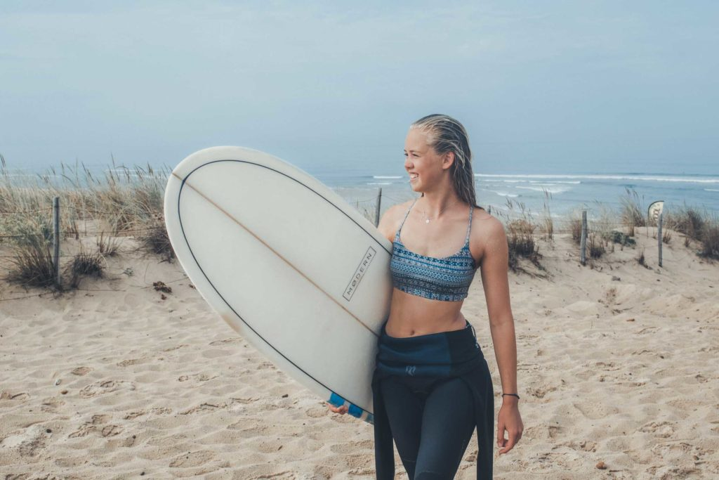 Surfen in Frankreich - Seignosse, einer meiner Lieblings Surfspots an Frankreichs Atlantikküste