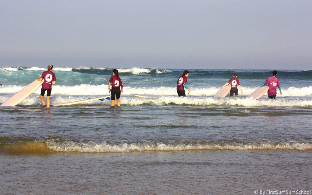 surfunterrich Frankreich, first surf school