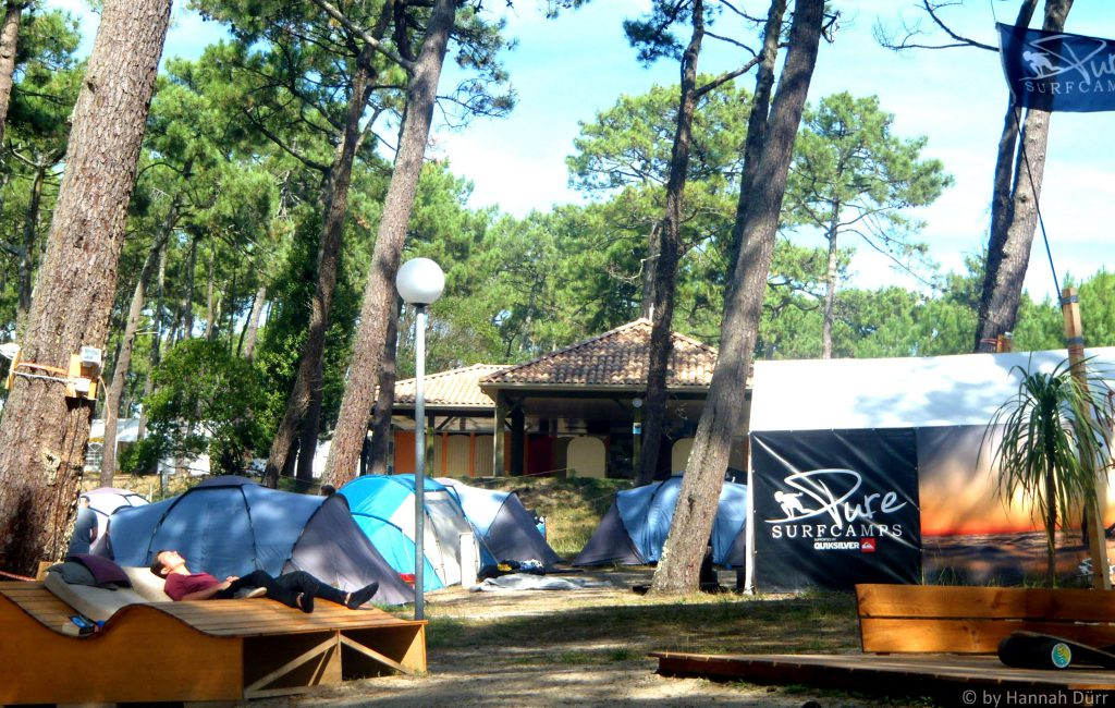 Pure Surf Camp Saint Giros, Campground