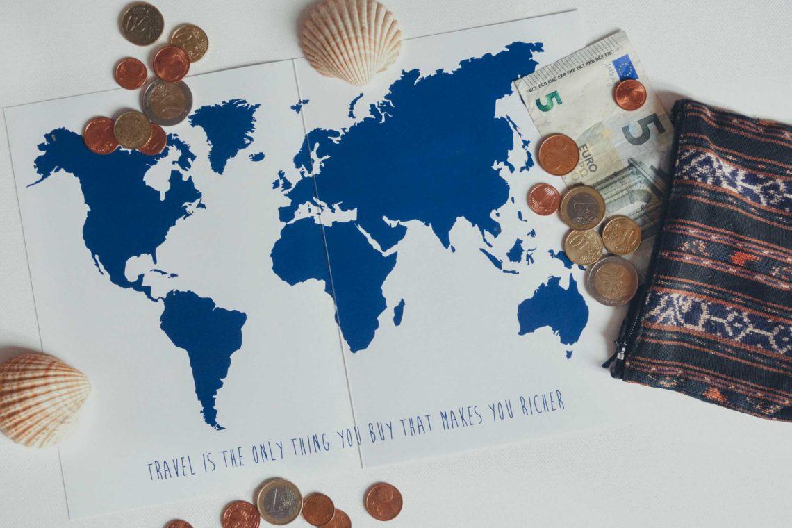 Kosten, die vor einer Weltreise anfallen