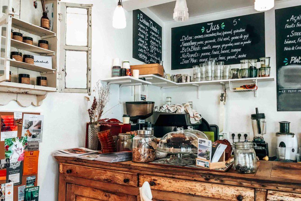 Café Magnolia in Hossegor