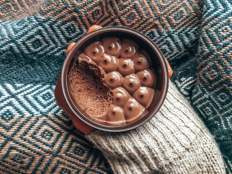 Die beste vegane Mousse au Chocolat in Frankreich!