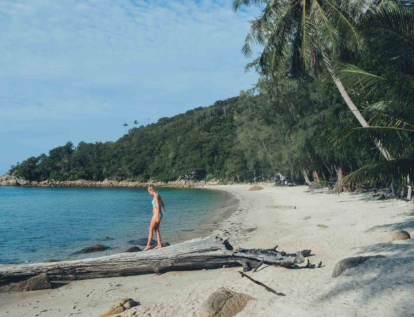 Koh Phangans schönster Strand: Coral Bay