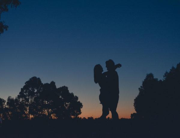 Leben auf der Farm in Western Australia - Sonnenuntergang