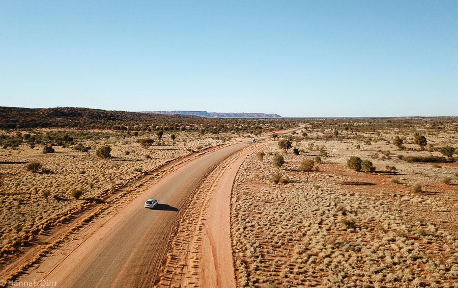 Mit dem Auto alleine durchs Outback in Australien