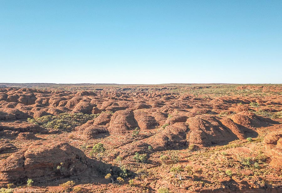 Kings Canyon, Sehenswürdigkeiten im Outback während dem Roadtrip durch Australien