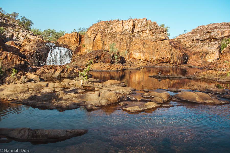Die Edith Falls im Northern territory in Australiens Outback