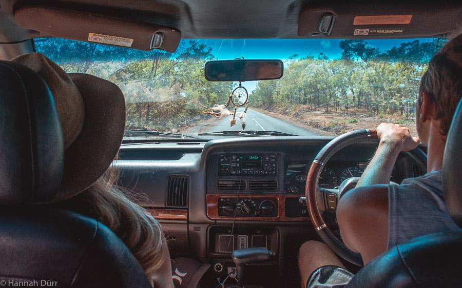 Roadtrip durchs Outback - mit dem 4WD zum Kakadu Nationalpark