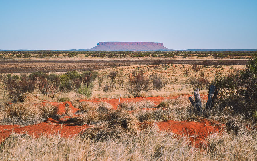 Mount Conner im Northern Territory in Australiens Outback