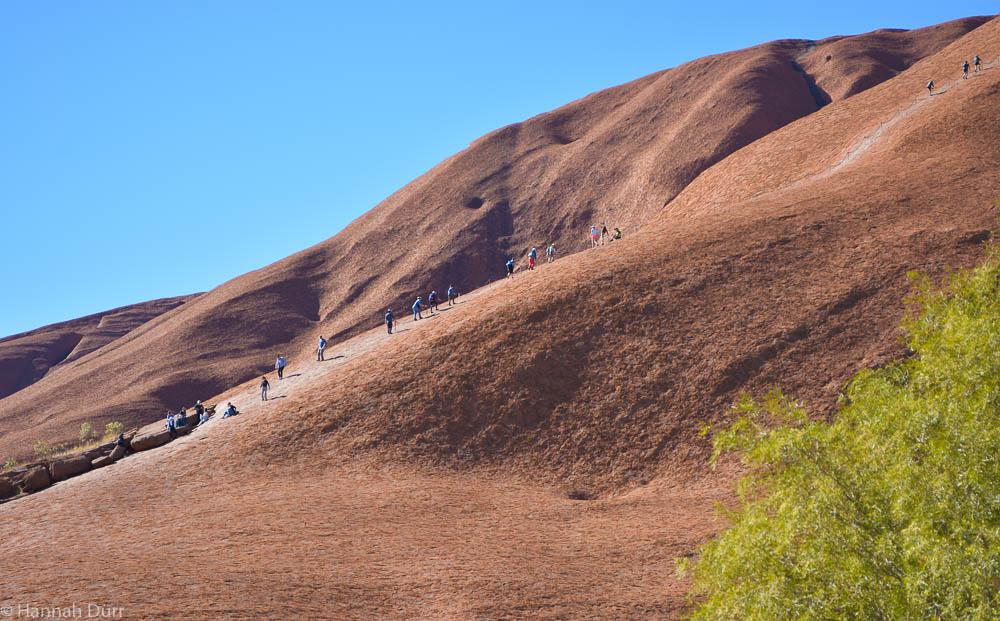 Please don't climb Ayers Rock