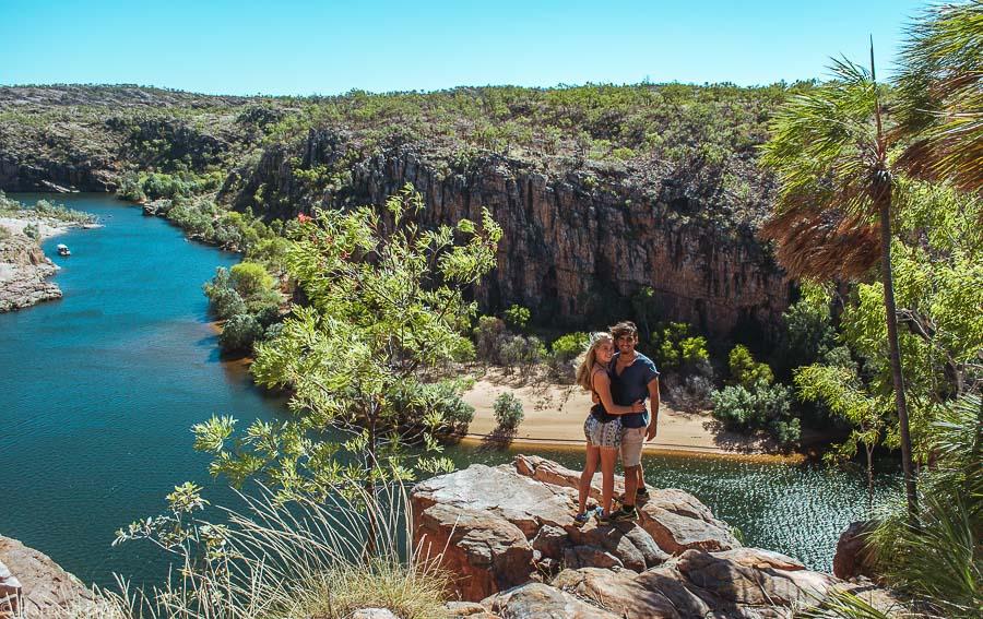 Catherine River Ausblick im Northern Territory - Eines der Highlights vom Roadtrip durch das Australische Outback