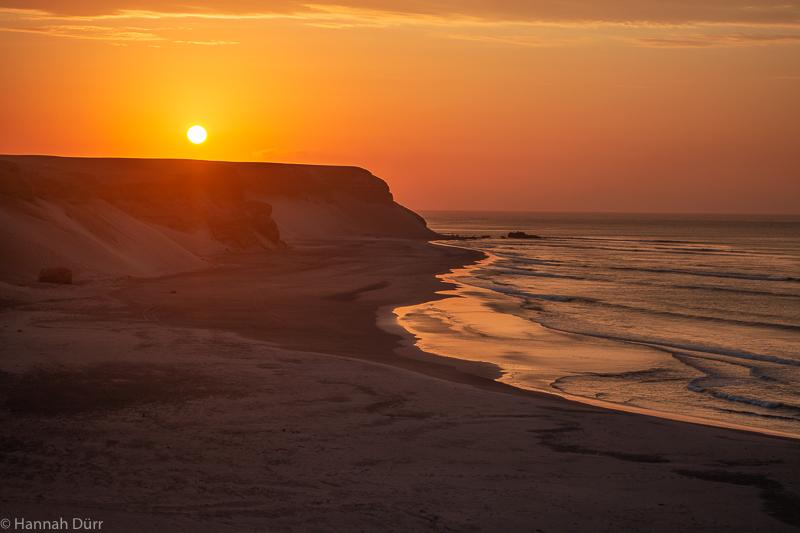 Chicama Sonnenuntergang