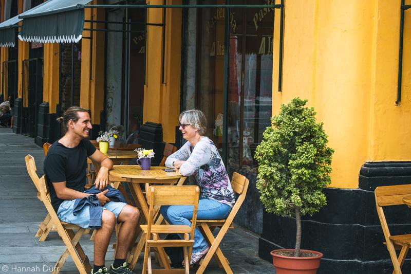Café in Callao, Peru