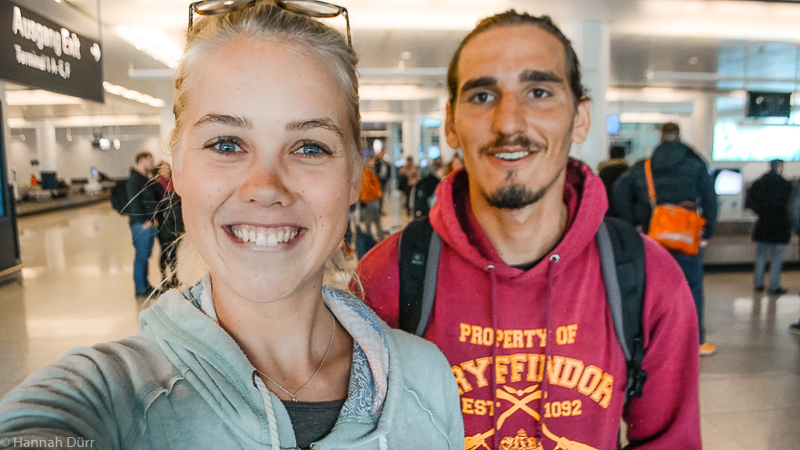 Hannah und Adrian nochmal überglücklich