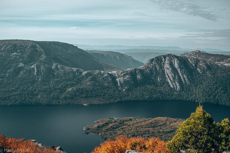 Schöne Aussicht beim Radle Mountain