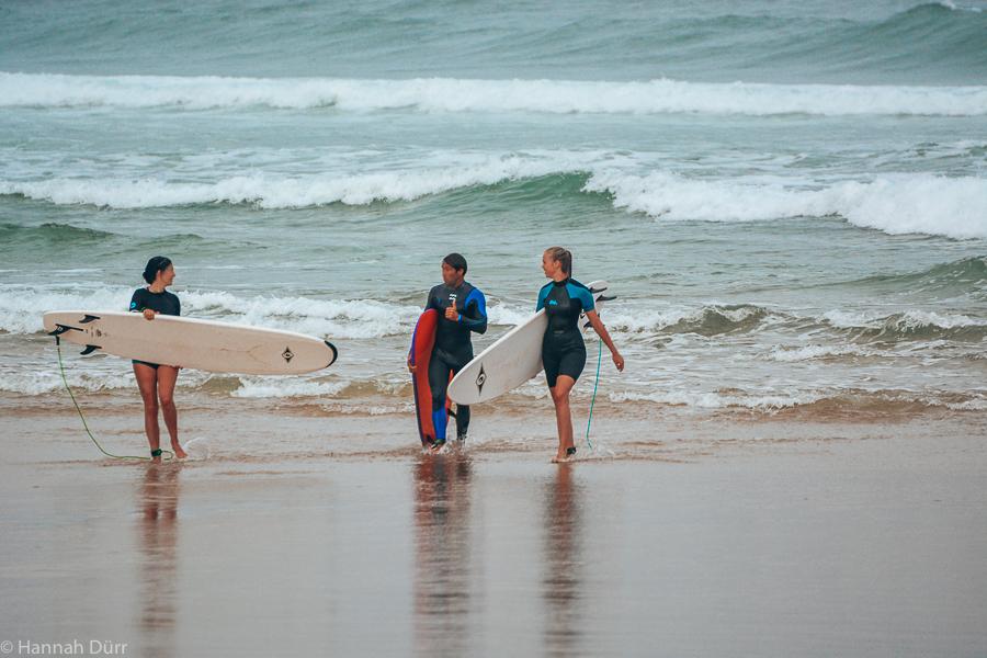 Konstruktive Kritik nach der Surfsession