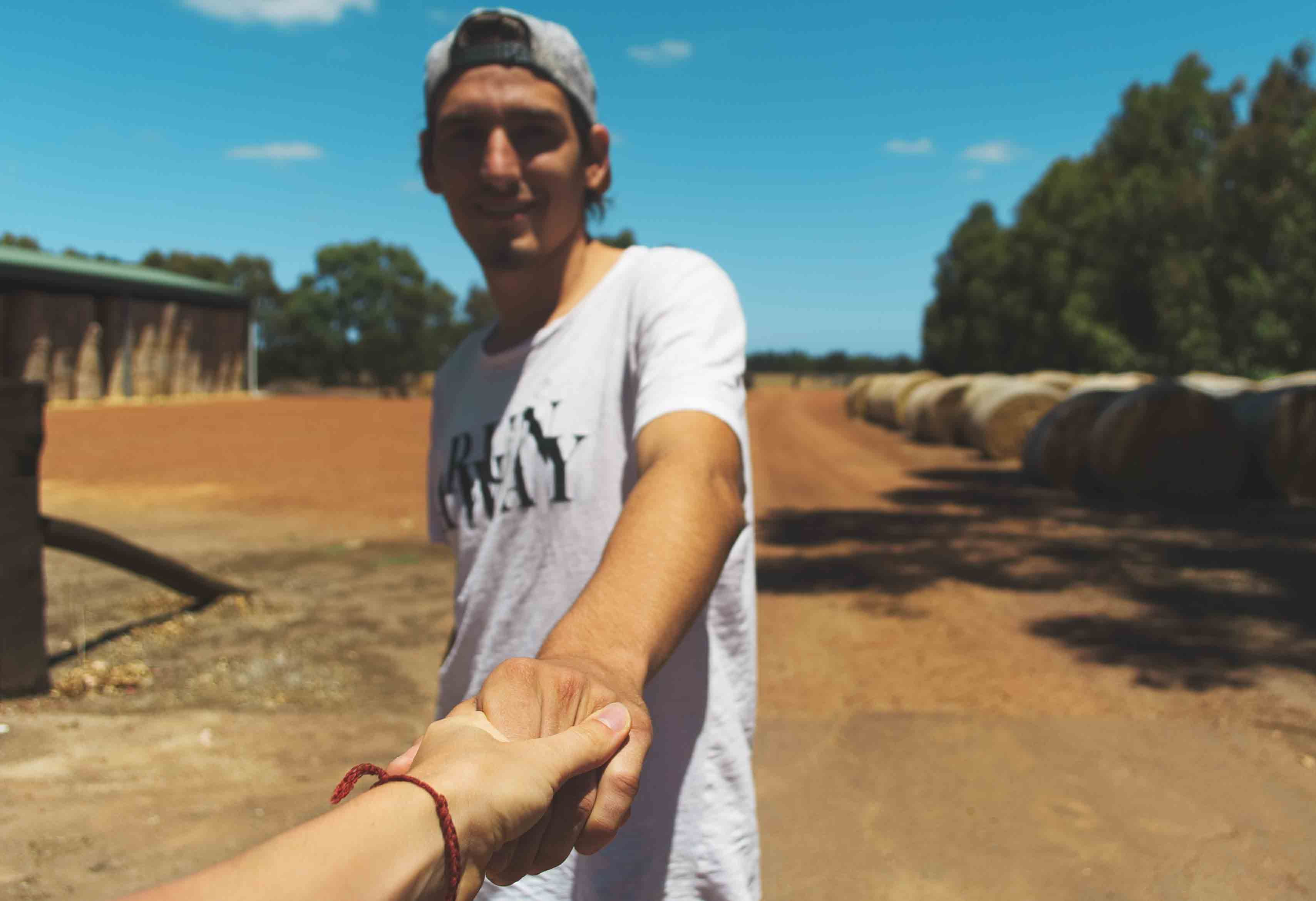 Adri in Australien auf der Farm