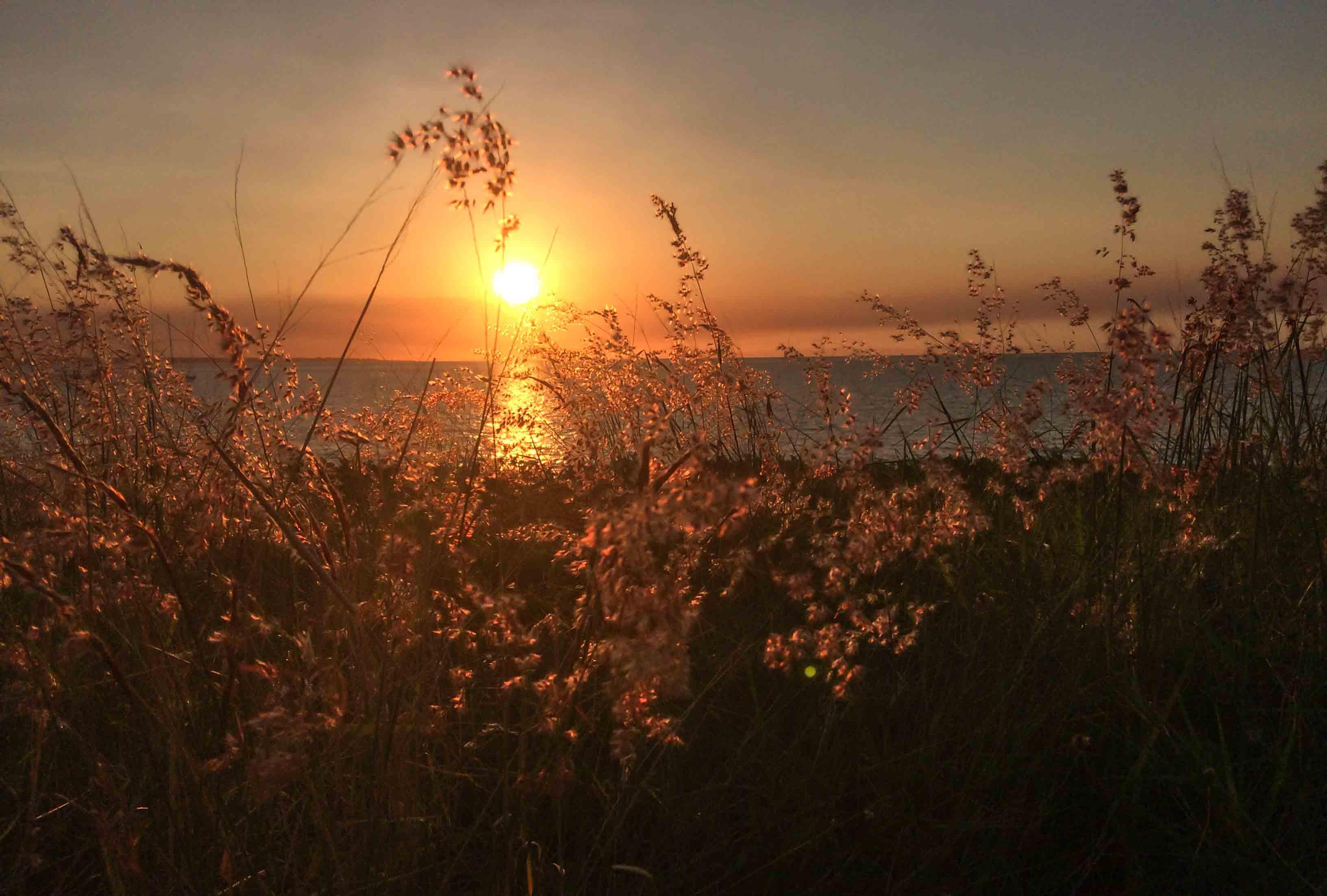 Sonnenuntergang in Darwin am Strand