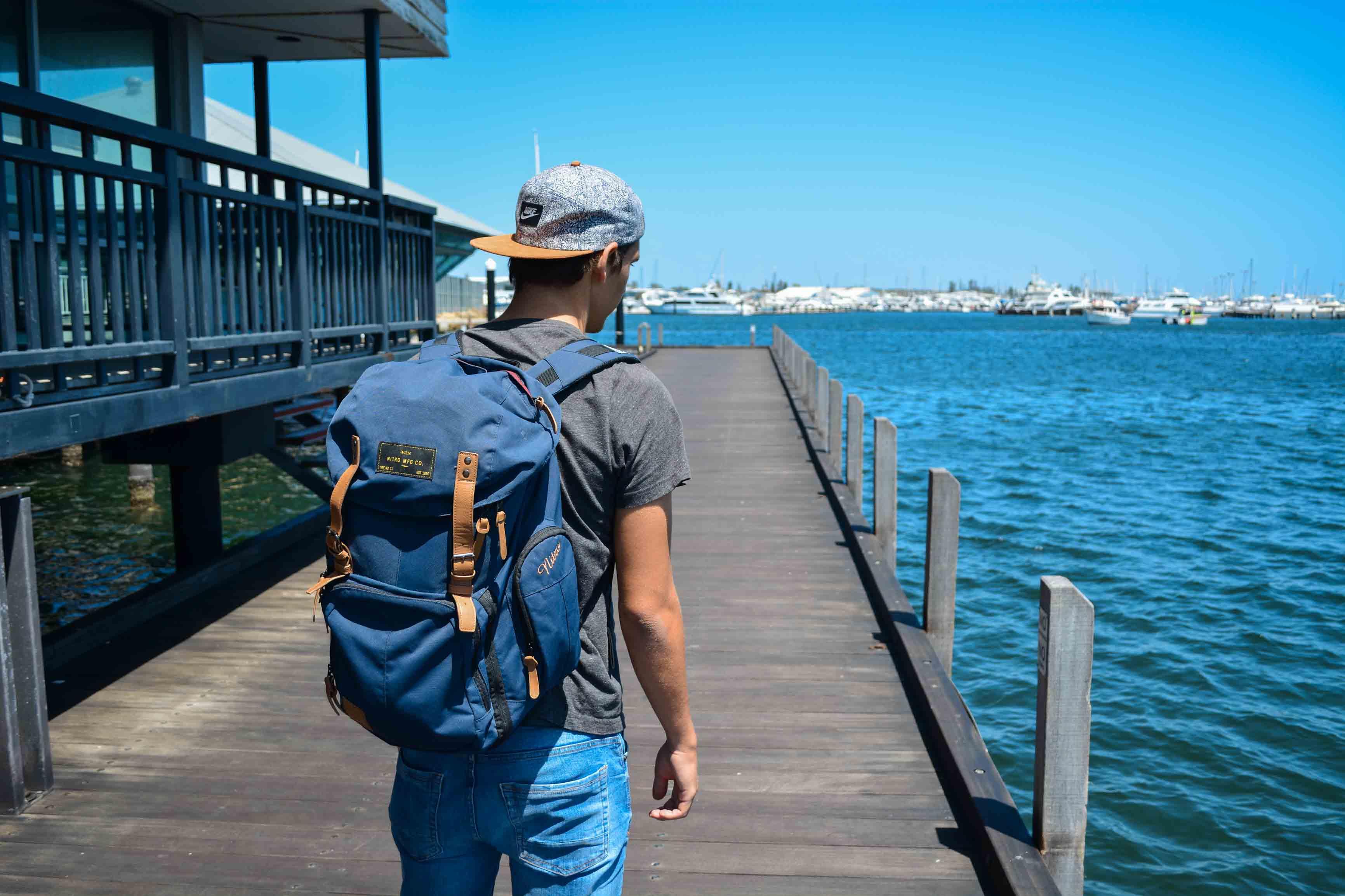 Adri in Fremantle