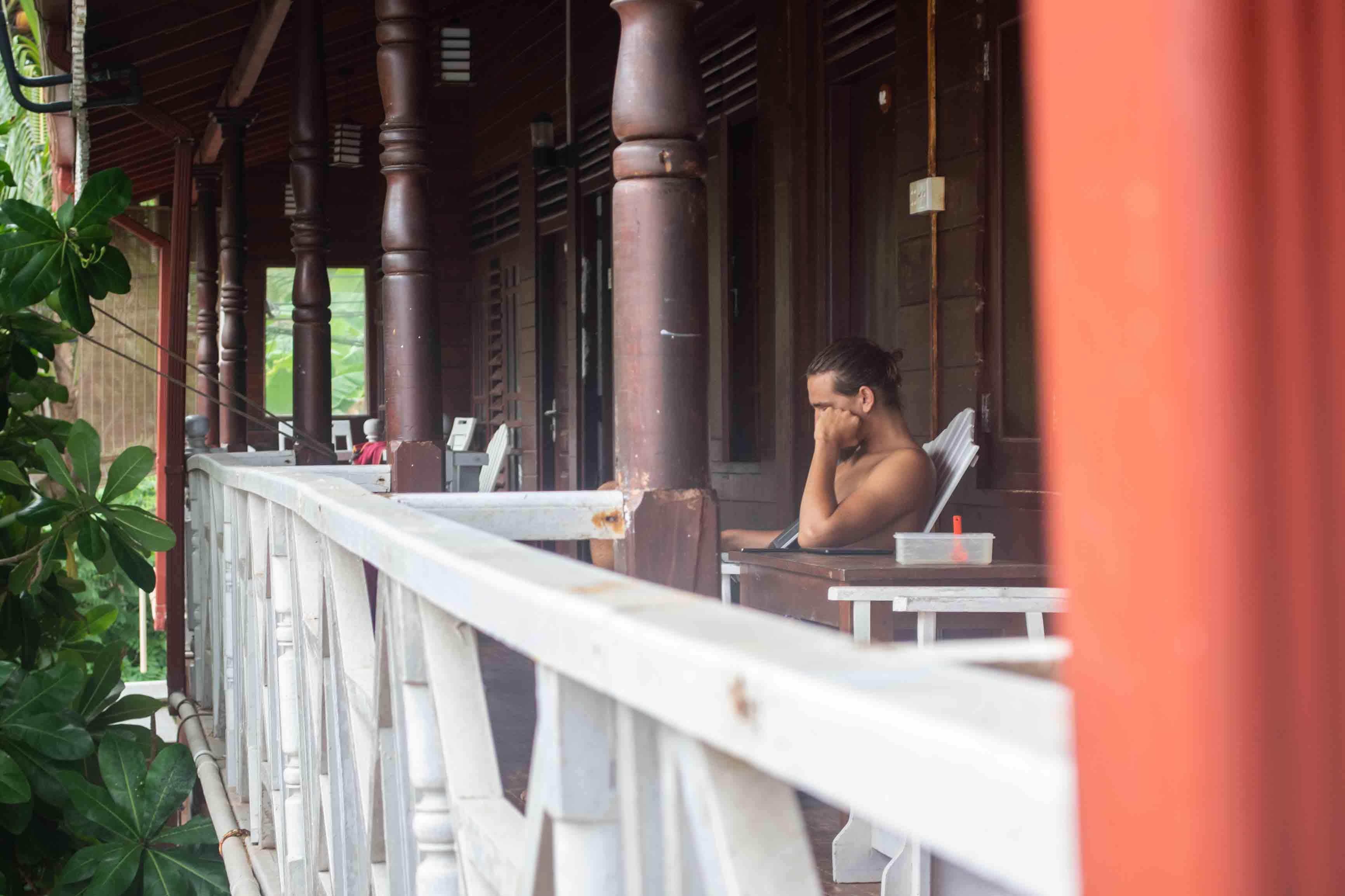Krank im Hostel in Mirissa - eines der schlimmsten Erlebnisse auf der Weltreise