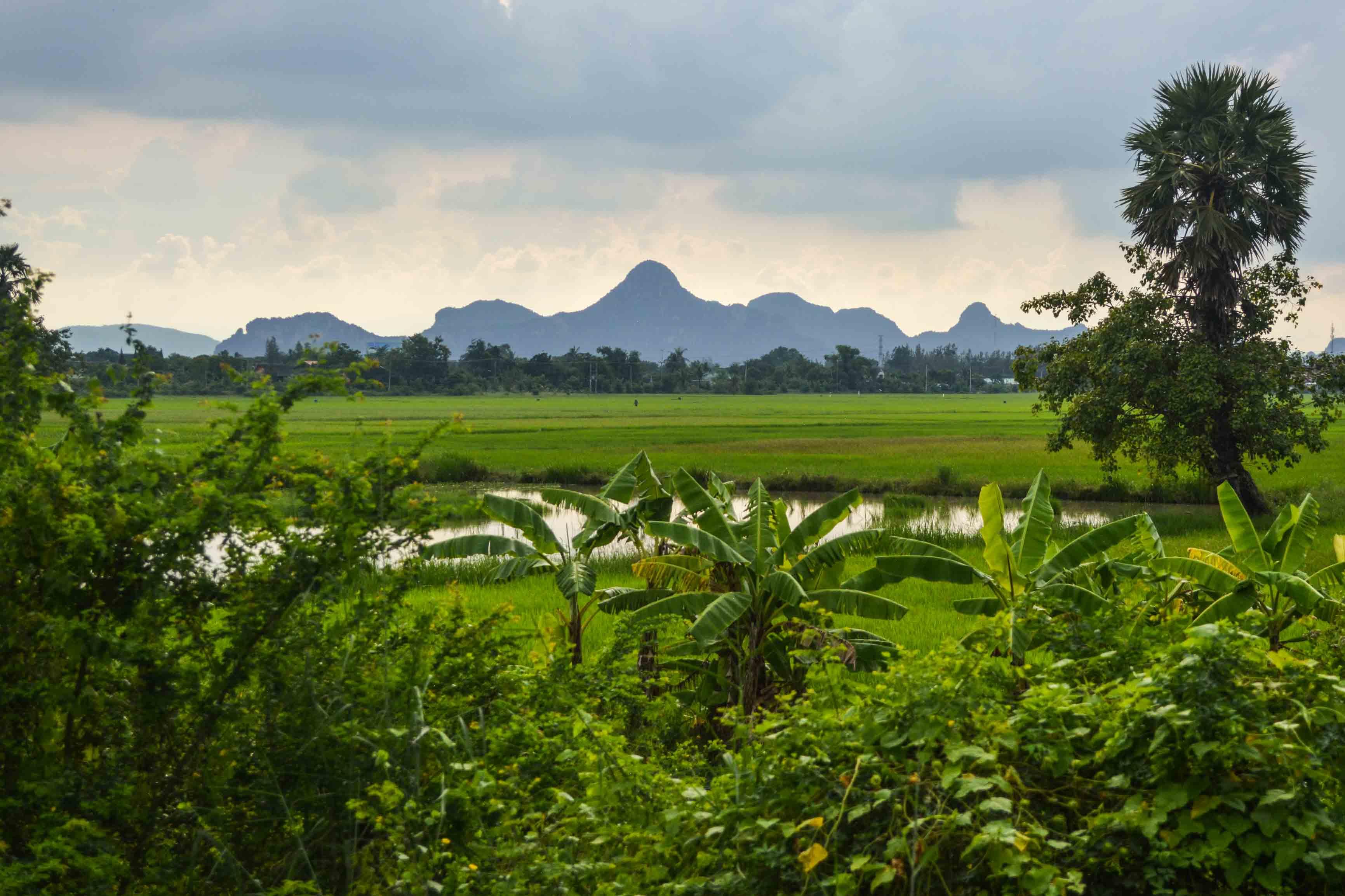 Wunderschöne Landschaft in Thailand