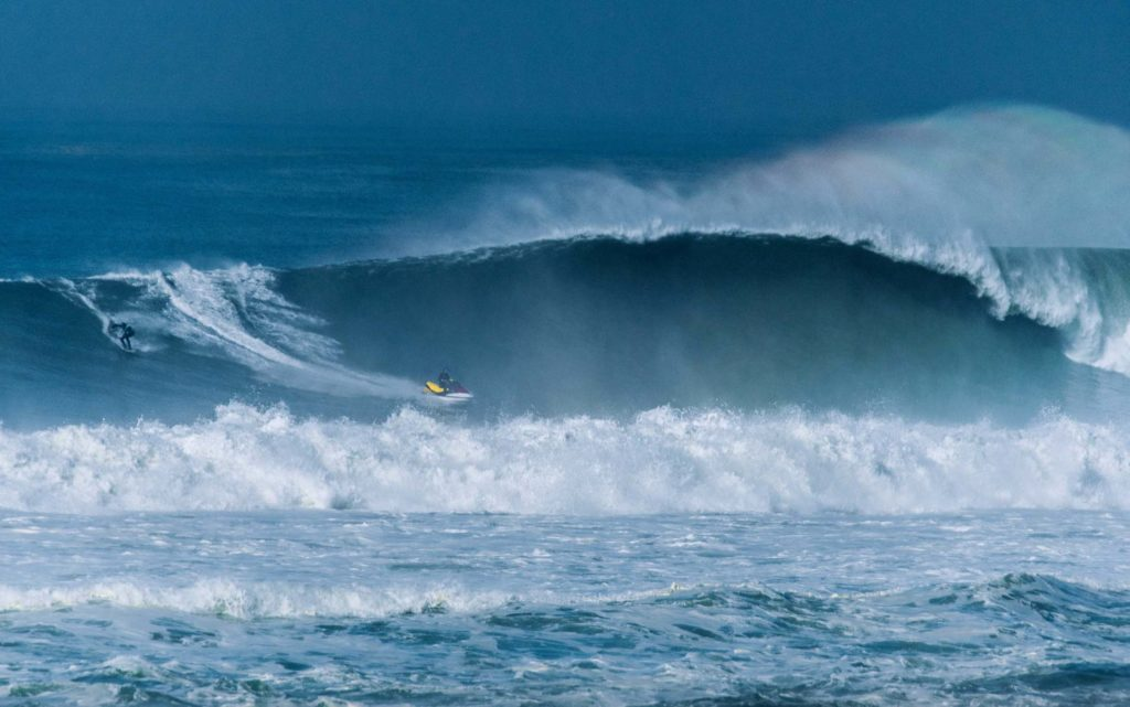 Big Wave Surfing in Hossegor, La Nord & La Graviere