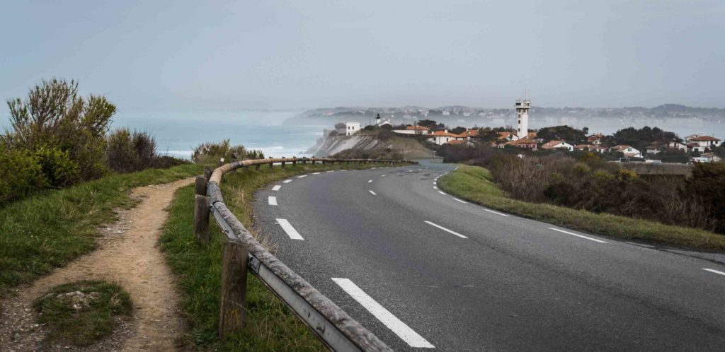 Küstenstraße von Hendaye nach Saint Jean de Luz