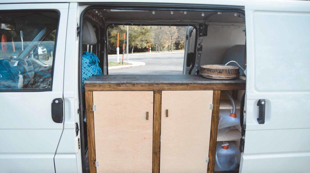 camper küche ohne strom