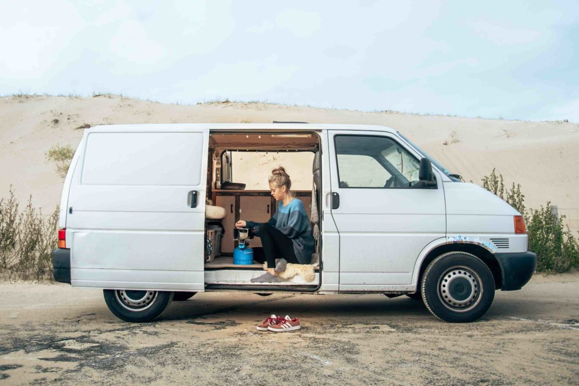 Vanlife in Frankreich - unser VW T4 Transporter Ausbau