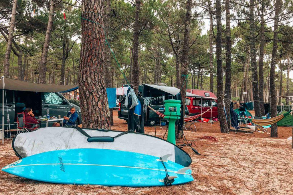 Gemütlicher Campingplatz in Carcans Plage