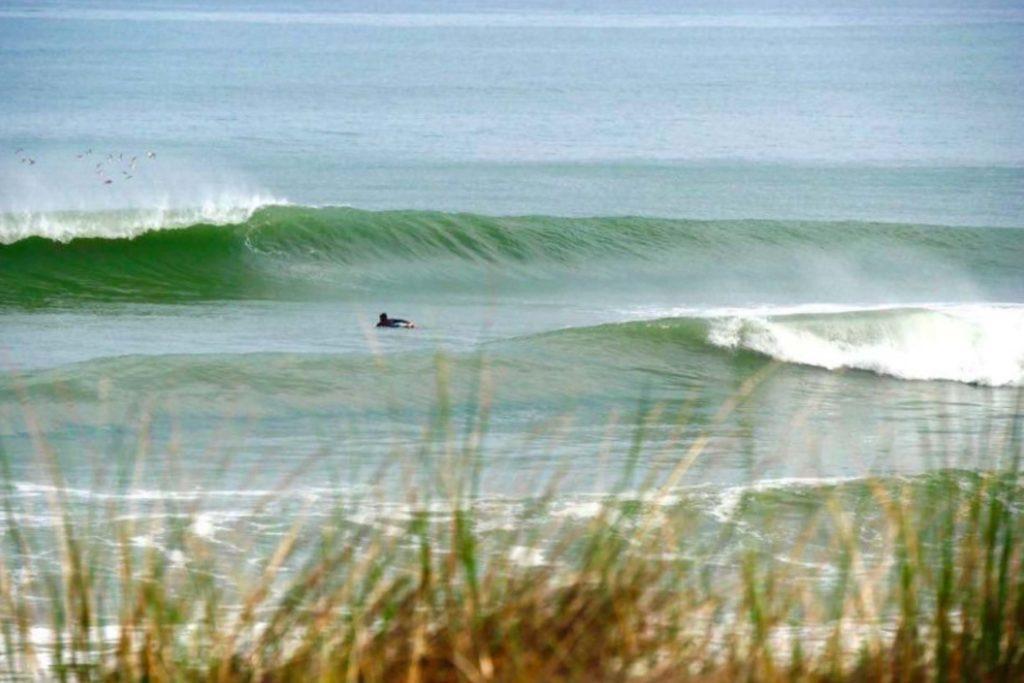 Surfen an der Cote de Lumiere, Bild von Magigseaweed